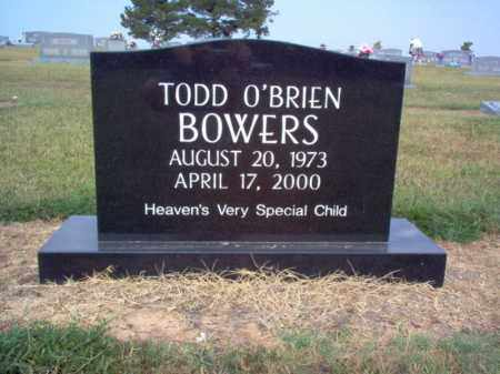 BOWERS, TODD O'BRIEN - Cross County, Arkansas | TODD O'BRIEN BOWERS - Arkansas Gravestone Photos