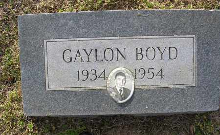 BOYD, GAYLON - Cross County, Arkansas | GAYLON BOYD - Arkansas Gravestone Photos