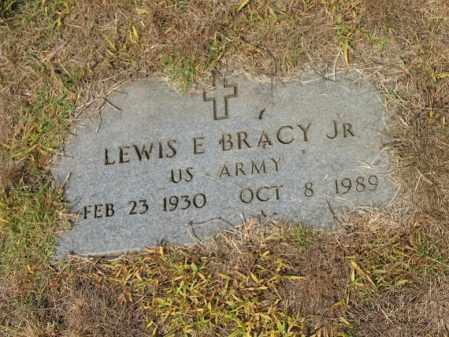 BRACY, JR (VETERAN), LEWIS E - Cross County, Arkansas | LEWIS E BRACY, JR (VETERAN) - Arkansas Gravestone Photos