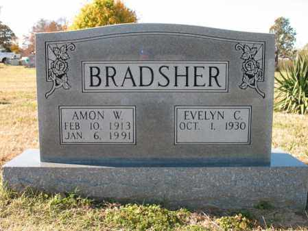 BRADSHER, AMON WILSON - Cross County, Arkansas | AMON WILSON BRADSHER - Arkansas Gravestone Photos