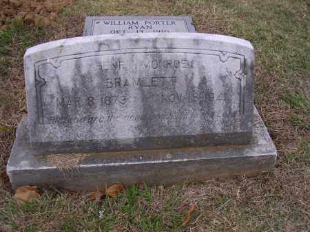 BRAMLETT, HENRY MONROE - Cross County, Arkansas | HENRY MONROE BRAMLETT - Arkansas Gravestone Photos