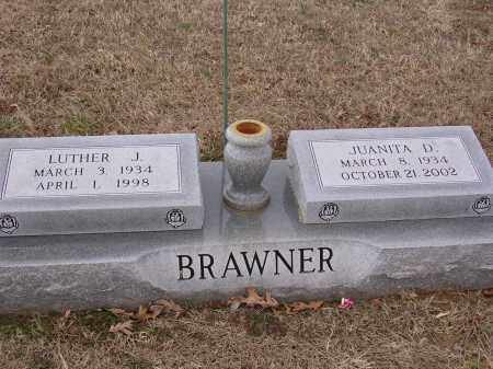 DURHAM BRAWNER, JUANITA - Cross County, Arkansas | JUANITA DURHAM BRAWNER - Arkansas Gravestone Photos