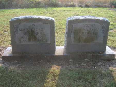 BRAWNER, MACK GEORGE - Cross County, Arkansas | MACK GEORGE BRAWNER - Arkansas Gravestone Photos