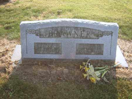 BRAWNER, WILLIE E - Cross County, Arkansas | WILLIE E BRAWNER - Arkansas Gravestone Photos
