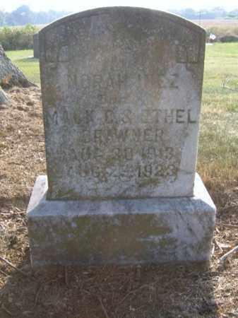 BRAWNER, NORAH INEZ - Cross County, Arkansas | NORAH INEZ BRAWNER - Arkansas Gravestone Photos