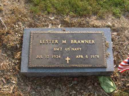 BRAWNER (VETERAN), LESTER M - Cross County, Arkansas | LESTER M BRAWNER (VETERAN) - Arkansas Gravestone Photos