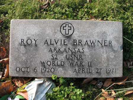 BRAWNER (VETERAN WWII), ROY ALVIE - Cross County, Arkansas | ROY ALVIE BRAWNER (VETERAN WWII) - Arkansas Gravestone Photos