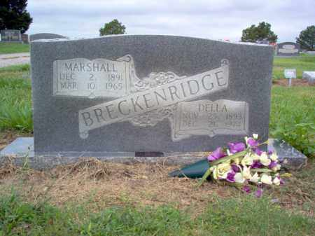 BRECKENRIDGE, DELLA - Cross County, Arkansas | DELLA BRECKENRIDGE - Arkansas Gravestone Photos