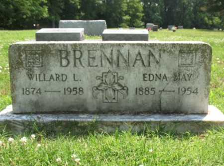 BRENNAN, EDNA MAY - Cross County, Arkansas | EDNA MAY BRENNAN - Arkansas Gravestone Photos