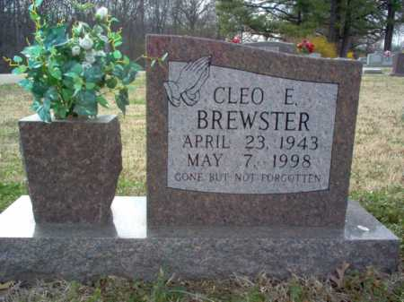BREWSTER, CLEO EMMETT - Cross County, Arkansas | CLEO EMMETT BREWSTER - Arkansas Gravestone Photos