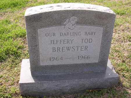 BREWSTER, JEFFERY TOD - Cross County, Arkansas | JEFFERY TOD BREWSTER - Arkansas Gravestone Photos