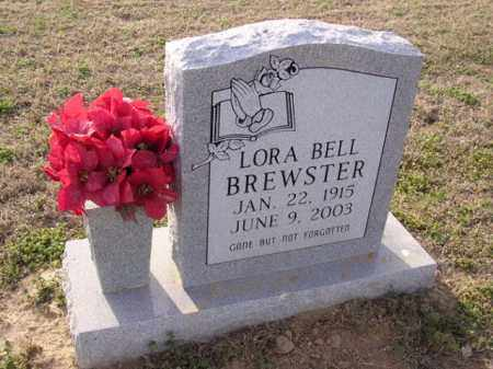 BREWSTER, LORA BELL - Cross County, Arkansas | LORA BELL BREWSTER - Arkansas Gravestone Photos