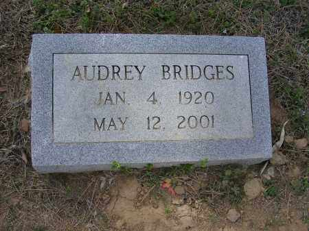 BRIDGES, AUDREY - Cross County, Arkansas | AUDREY BRIDGES - Arkansas Gravestone Photos