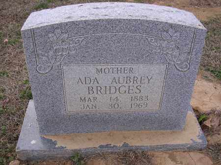 BRIDGES, ADA AUBREY - Cross County, Arkansas | ADA AUBREY BRIDGES - Arkansas Gravestone Photos