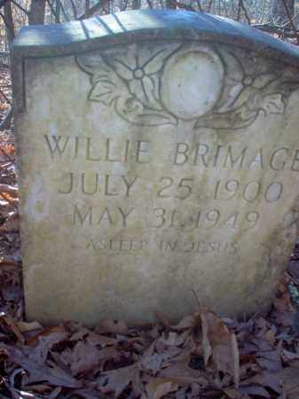 BRIMAGE, WILLIE - Cross County, Arkansas | WILLIE BRIMAGE - Arkansas Gravestone Photos