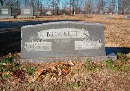 "BROCKETT, MARGARET ANN ""ANNIE"" - Cross County, Arkansas 