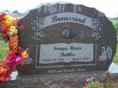 BATTLES BROUSSARD, SONYA RENEE - Cross County, Arkansas | SONYA RENEE BATTLES BROUSSARD - Arkansas Gravestone Photos