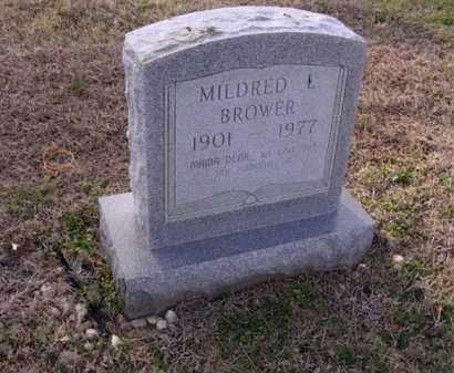 BROWER, MILDRED L - Cross County, Arkansas | MILDRED L BROWER - Arkansas Gravestone Photos