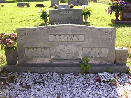 BROWN, RUTHIE MAE - Cross County, Arkansas | RUTHIE MAE BROWN - Arkansas Gravestone Photos