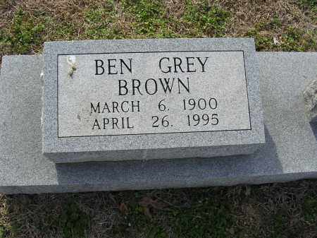 BROWN, BEN GREY - Cross County, Arkansas | BEN GREY BROWN - Arkansas Gravestone Photos