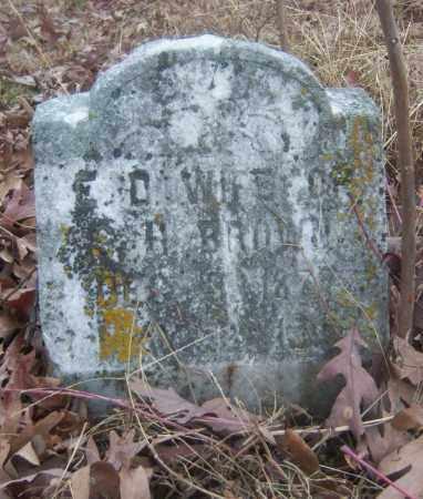 BROWN, E D - Cross County, Arkansas | E D BROWN - Arkansas Gravestone Photos
