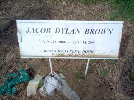 BROWN, JACOB DYLAN - Cross County, Arkansas | JACOB DYLAN BROWN - Arkansas Gravestone Photos