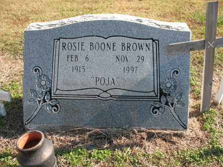 "BROWN, ROSIE ""POJA"" - Cross County, Arkansas 