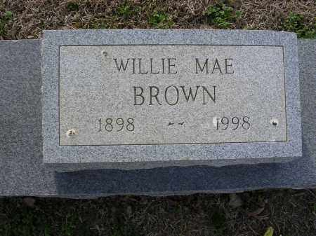 BROWN, WILIE MAE - Cross County, Arkansas | WILIE MAE BROWN - Arkansas Gravestone Photos