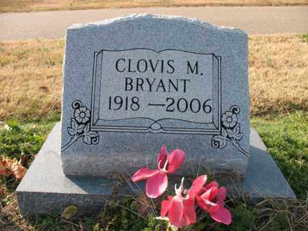 BRYANT, CLOVIS M - Cross County, Arkansas | CLOVIS M BRYANT - Arkansas Gravestone Photos