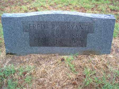 BRYANT, FRED R - Cross County, Arkansas | FRED R BRYANT - Arkansas Gravestone Photos