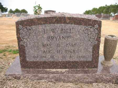 "BRYANT, H W ""BILL"" - Cross County, Arkansas | H W ""BILL"" BRYANT - Arkansas Gravestone Photos"