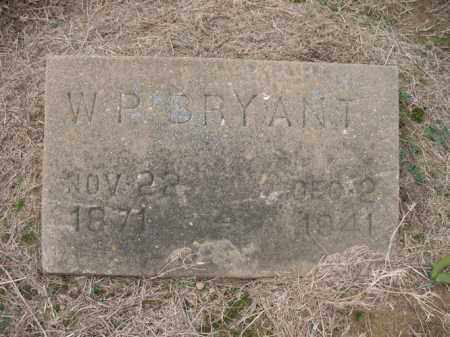 BRYANT, W P - Cross County, Arkansas | W P BRYANT - Arkansas Gravestone Photos