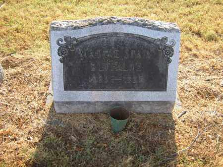 BUFFALOE, MAGGIE - Cross County, Arkansas | MAGGIE BUFFALOE - Arkansas Gravestone Photos