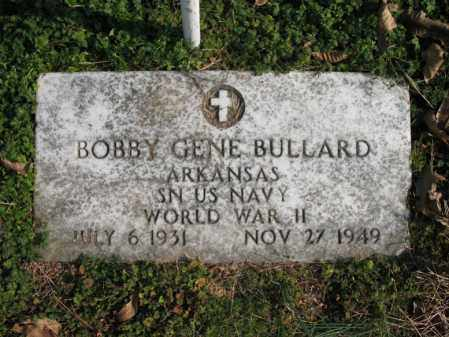 BULLARD (VETERAN WWII), BOBBY GENE - Cross County, Arkansas | BOBBY GENE BULLARD (VETERAN WWII) - Arkansas Gravestone Photos