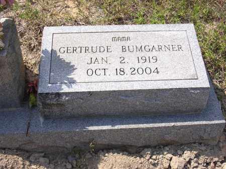 BUMGARNER, GERTRUDE - Cross County, Arkansas | GERTRUDE BUMGARNER - Arkansas Gravestone Photos