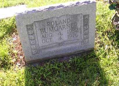 BUMGARNER, ROLAND - Cross County, Arkansas | ROLAND BUMGARNER - Arkansas Gravestone Photos