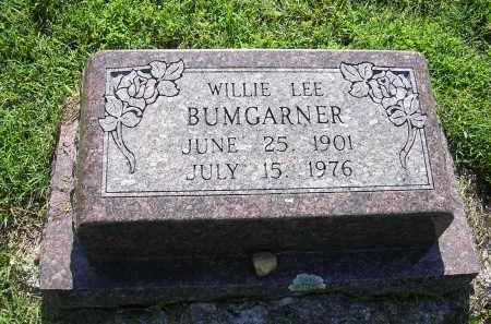 BUMGARNER, WILLIE LEE - Cross County, Arkansas | WILLIE LEE BUMGARNER - Arkansas Gravestone Photos