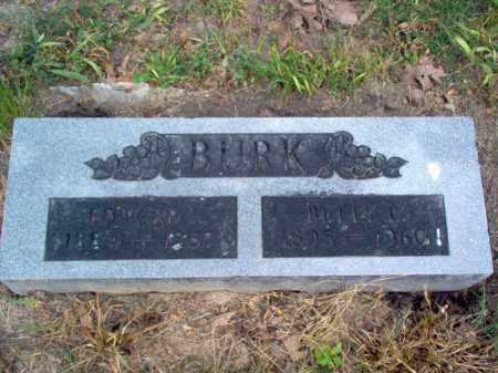 BURK, EDWARD - Cross County, Arkansas | EDWARD BURK - Arkansas Gravestone Photos