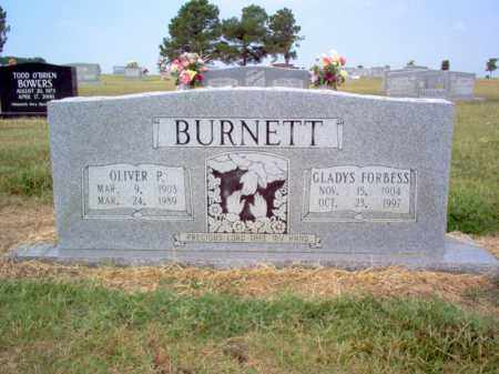 BURNETT, OLIVER P - Cross County, Arkansas | OLIVER P BURNETT - Arkansas Gravestone Photos
