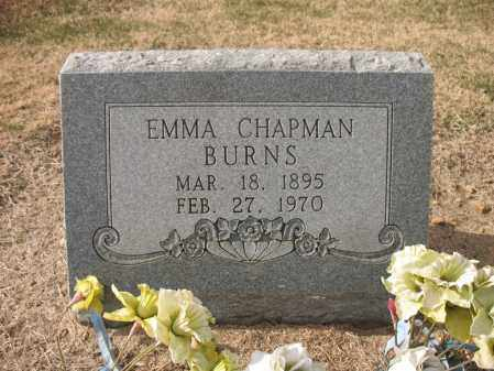 CHAPMAN BURNS, EMMA - Cross County, Arkansas | EMMA CHAPMAN BURNS - Arkansas Gravestone Photos