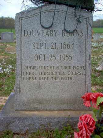BURNS, LOUVEARY - Cross County, Arkansas | LOUVEARY BURNS - Arkansas Gravestone Photos