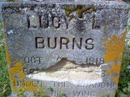 BURNS, LUCY L - Cross County, Arkansas | LUCY L BURNS - Arkansas Gravestone Photos