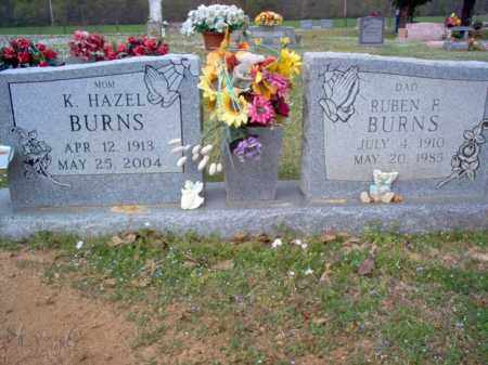 BURNS, K HAZEL - Cross County, Arkansas | K HAZEL BURNS - Arkansas Gravestone Photos