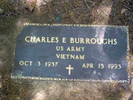 BURROUGHS  (VETERAN VIET), CHARLES E - Cross County, Arkansas | CHARLES E BURROUGHS  (VETERAN VIET) - Arkansas Gravestone Photos