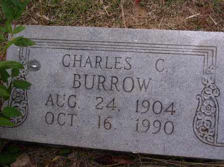 BURROW, CHARLES C - Cross County, Arkansas | CHARLES C BURROW - Arkansas Gravestone Photos