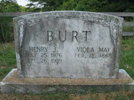 BURT, HENRY J - Cross County, Arkansas | HENRY J BURT - Arkansas Gravestone Photos