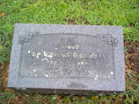BURTON, ADA KATHRYN - Cross County, Arkansas | ADA KATHRYN BURTON - Arkansas Gravestone Photos