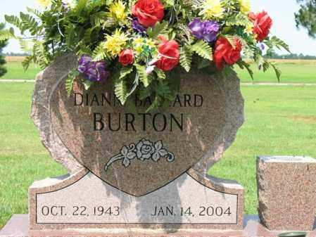 BALLARD BURTON, DIANN - Cross County, Arkansas | DIANN BALLARD BURTON - Arkansas Gravestone Photos