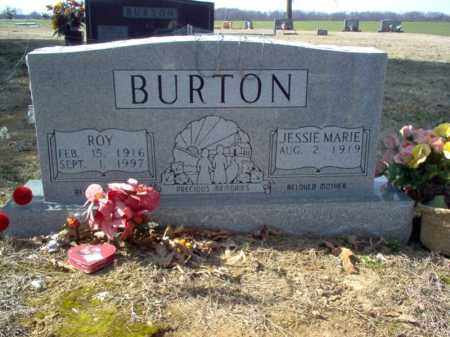 BURTON, JESSIE MARIE - Cross County, Arkansas | JESSIE MARIE BURTON - Arkansas Gravestone Photos
