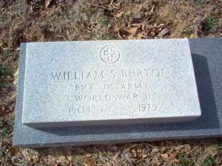 BURTON (VETERAN WWII), WILLIAM S - Cross County, Arkansas   WILLIAM S BURTON (VETERAN WWII) - Arkansas Gravestone Photos